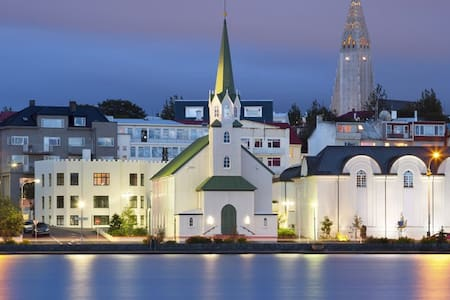 Sweet apartment in the heart of Reykjavík.