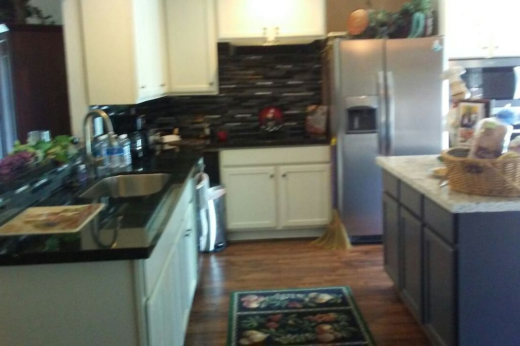 large kitchen all included...coffee maker microwave etc..