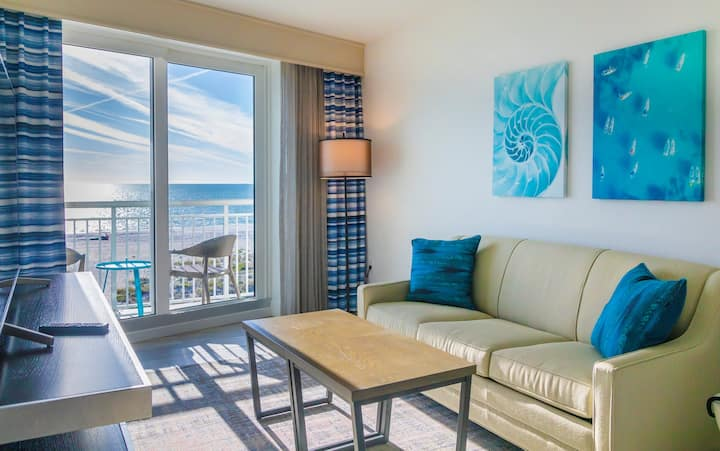 Lush 2 Bed/ 2 Bath Oceana Gulf Front Suite