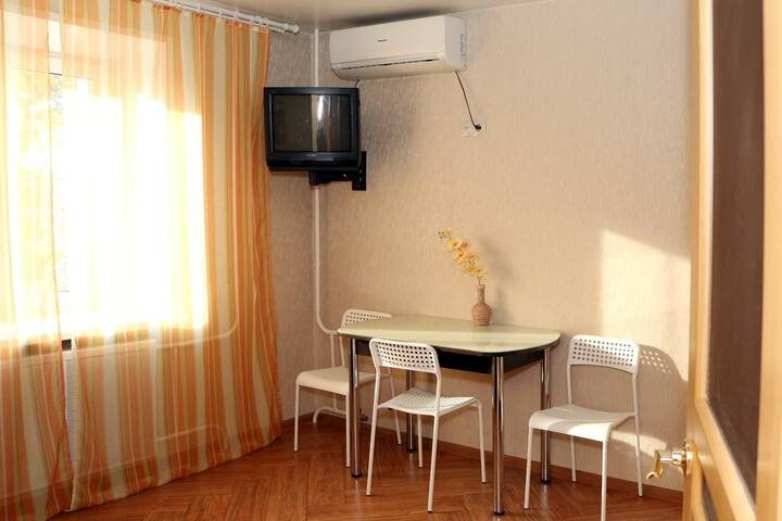 1-room furnished apartment with a balcony in the center of Ulyanovsk – daily