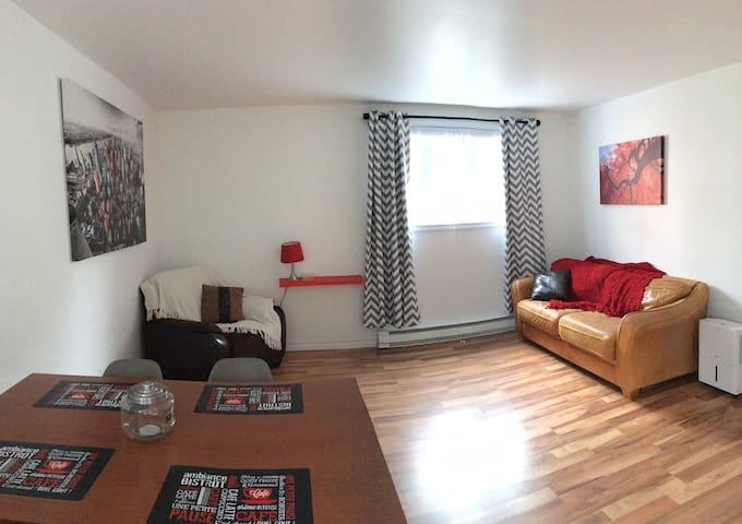 Appartement 5 1/2 complet à louer tout inclus