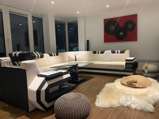 Private Room in Penthouse w/ Roof Terrace (Excel)