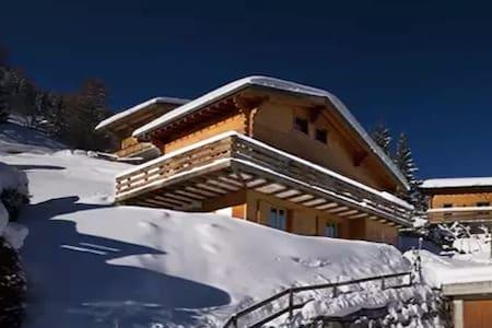 Chalet El Paradiso LaTzoumaz 4Valley Skiing Hiking - Riddes