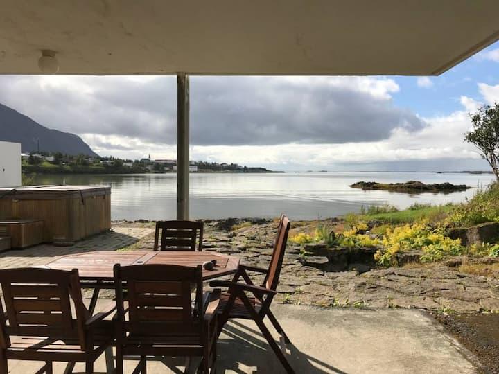 Kría Guesthouse - Apartment, 2 Bedrooms, Ocean View