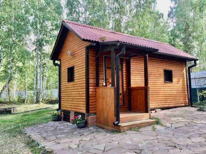 Уютный домик на берегу озера Увильды