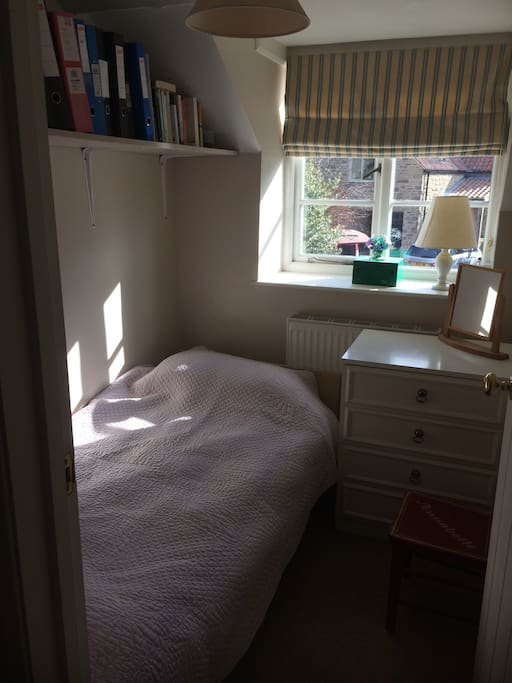 Small room suitable for short stays only