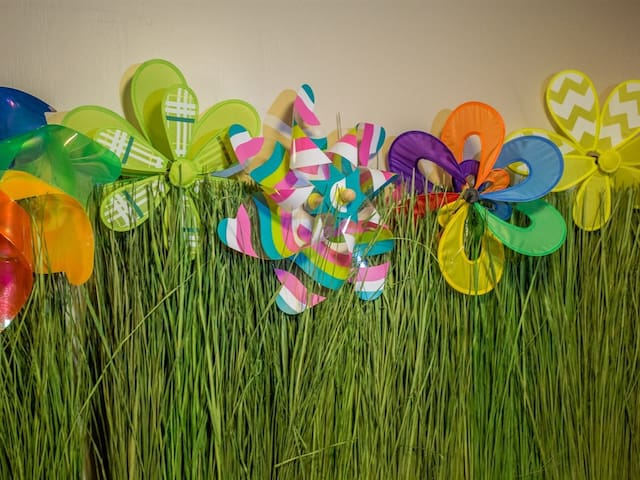 Pinwheel flowers!