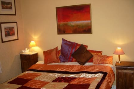 recently renovated double room - Bedous