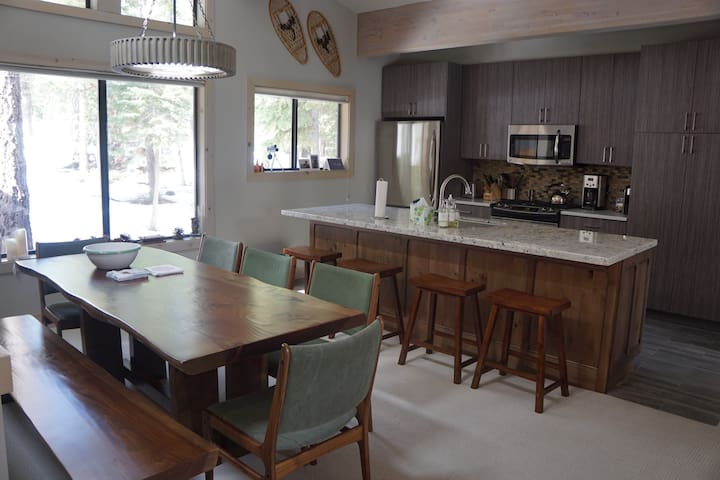 Modern condo in private area close to Tahoe City - Tahoe City - Appartement en résidence