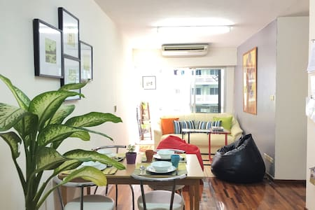super nice 4p,2 Fashion room close to all central - Bangkok - Apartment