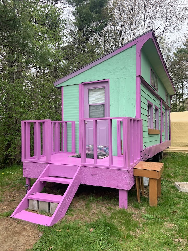 TINY HOUSE for your BIG Maine memories...all here