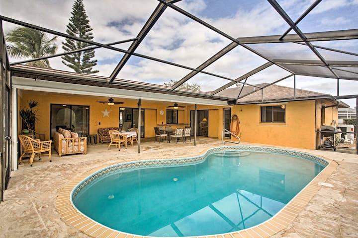 Cape Coral House w/ Private Lanai & Heated Pool!