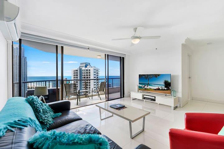 1 Bedroom Ocean View, High Floor, Free WiFi