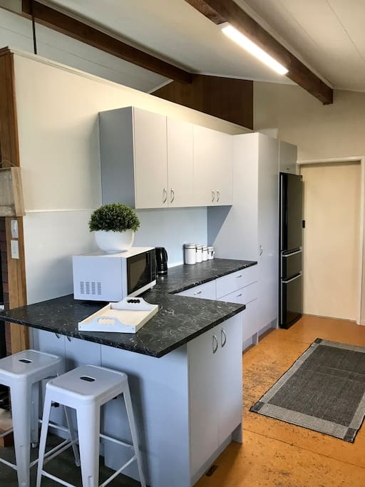 New kitchen, with all new oven, dishwasher etc
