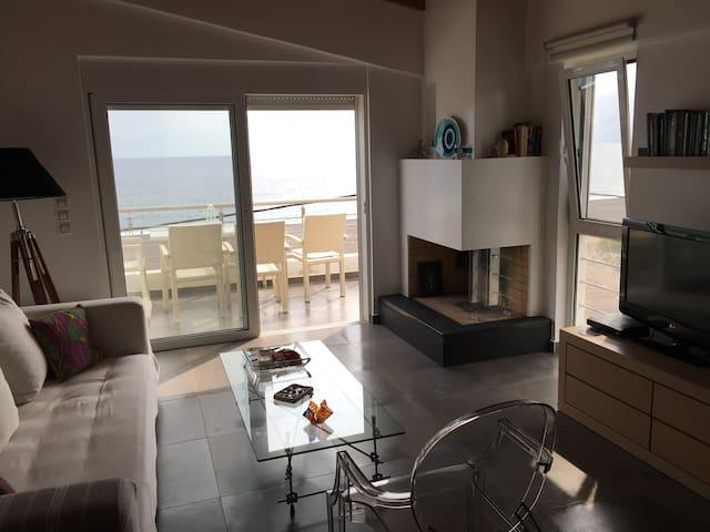Πολυτελες Παραθαλάσσιο Διαμερισμα - Agia Anna - Apartment