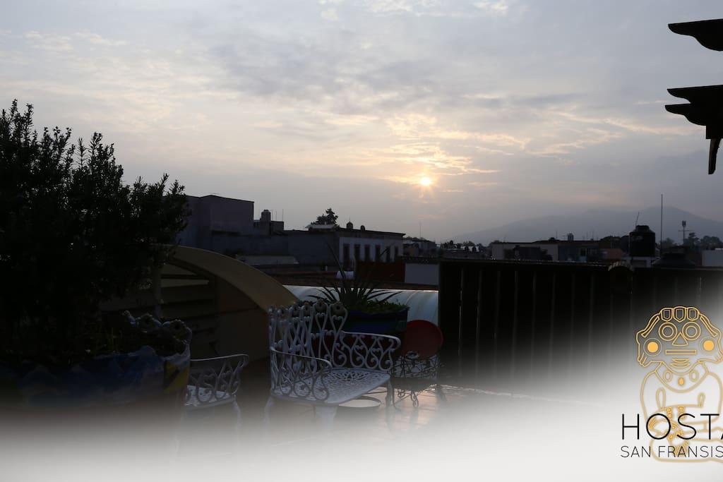 Un amanecer muy bello