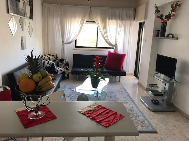 Charming 1 bedroom flat (56sqm). Heart of Larnaca.