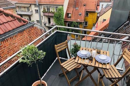Neue kleine Wohnung über den Dächern von Stuttgart