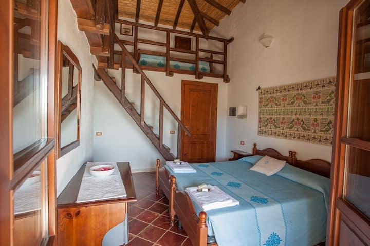 Camera tradizionale con vista
