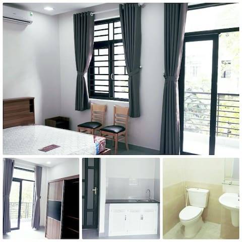 Cozy room with private kitchen, quiet neighborhood - Bình Hưng - House