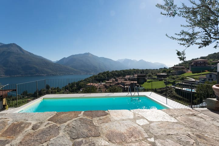 Authentic holiday home on Lake Como - Pianello Del Lario - Apartamento