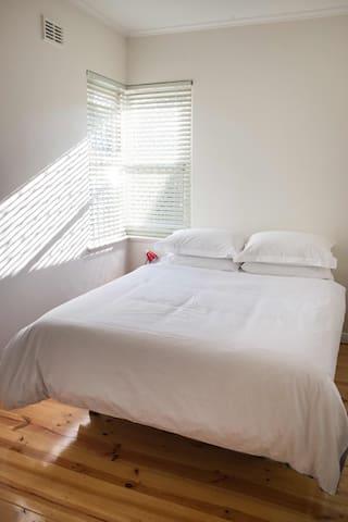 A light filled second bedroom