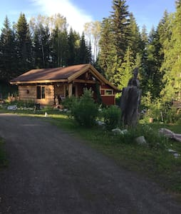 """Peaceful Heart""  Log Cabin on Ruth Lake"