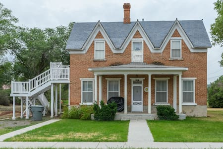 Panguich Red Brick Homes (Lower Home) - Panguitch