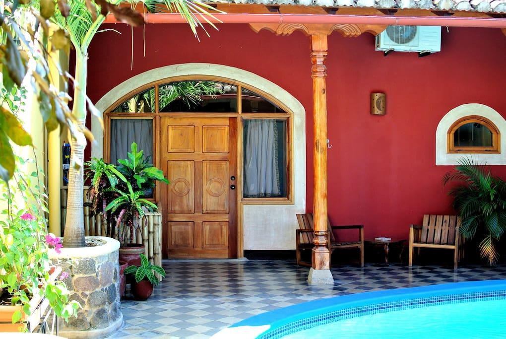 Private room in colonial house casas en alquiler en granada granada nicaragua - Casas en alquiler granada ...