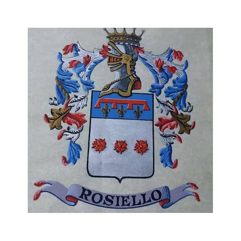Rosiello noble family crest