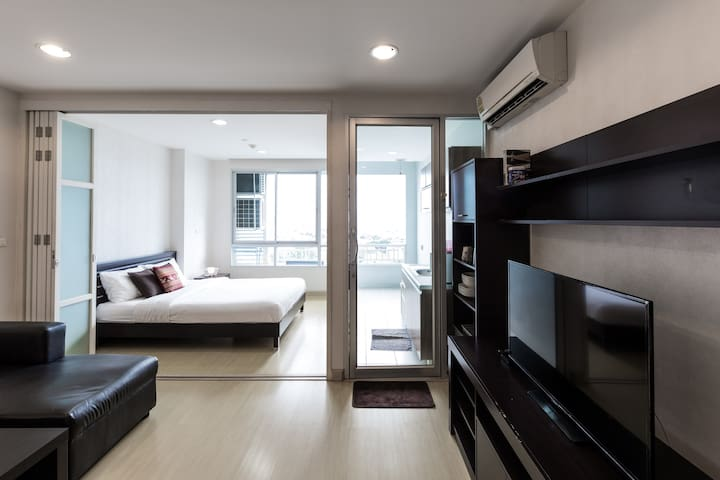 Cute Apartment Near BTS - Bangkok - Appartement