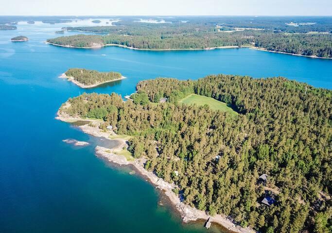 Traditional Finnish Summer Cottage Falken