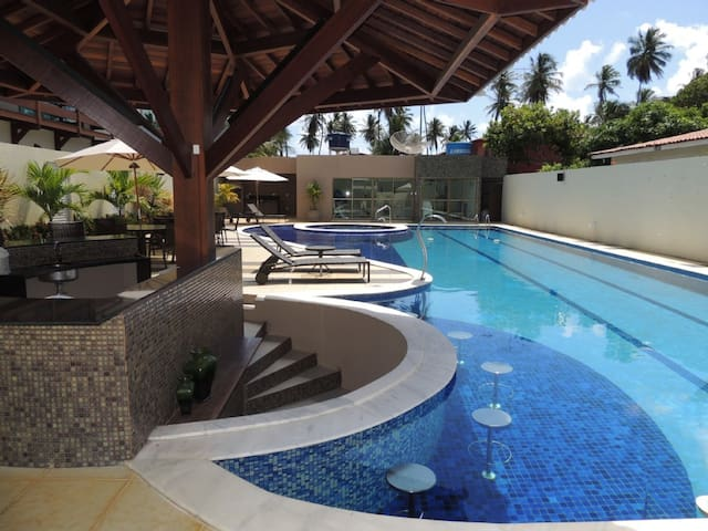 Casa Luxuosa a 50m da Praia em Sirinhaém - Sirinhaém - บ้าน