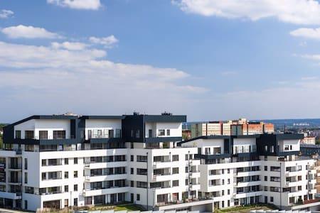 Apartament Panoramika z parkingiem - 甚切青(Szczecin)