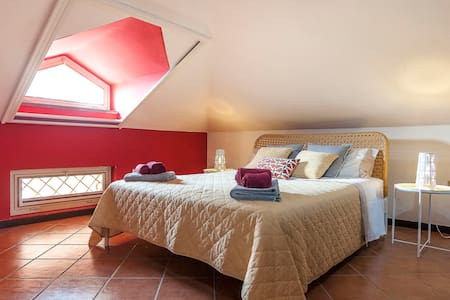 Luxury room in the Italian countryside
