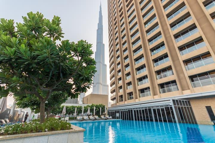 Big studio at Address Dubai Mall Residence 329093