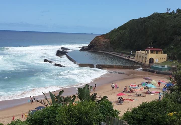 Ballito beach accomadation/ Thompsons bay/ shakas