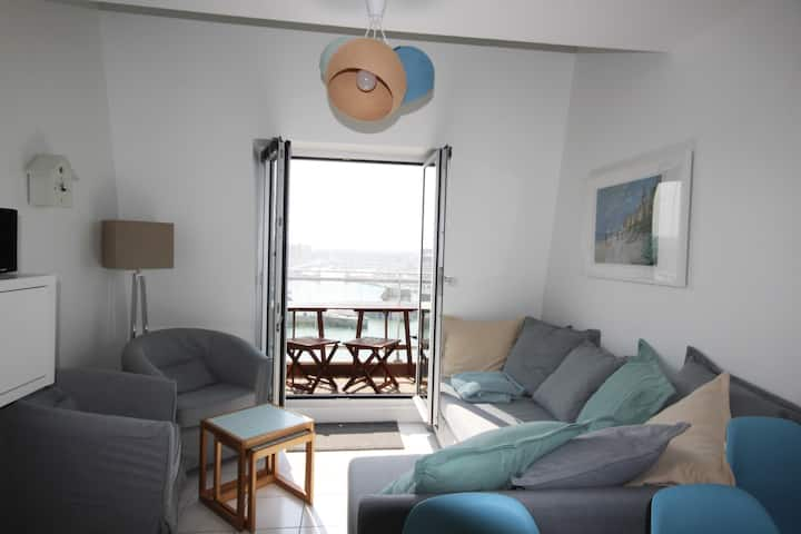 Trouville Le Beach, Duplex 6 personnes, 3 chambres