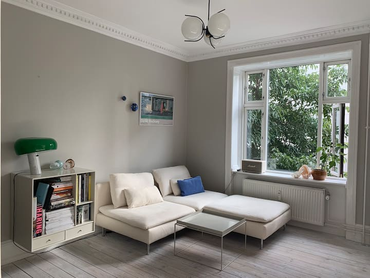 Lovely apartment in quiet part of Frederiksberg C