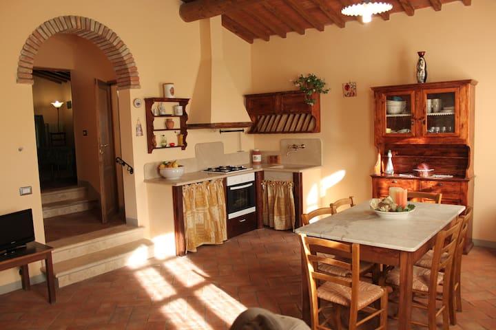 Timo In campagna per gustare la vita all'aperto - San Gimignano - Apartament