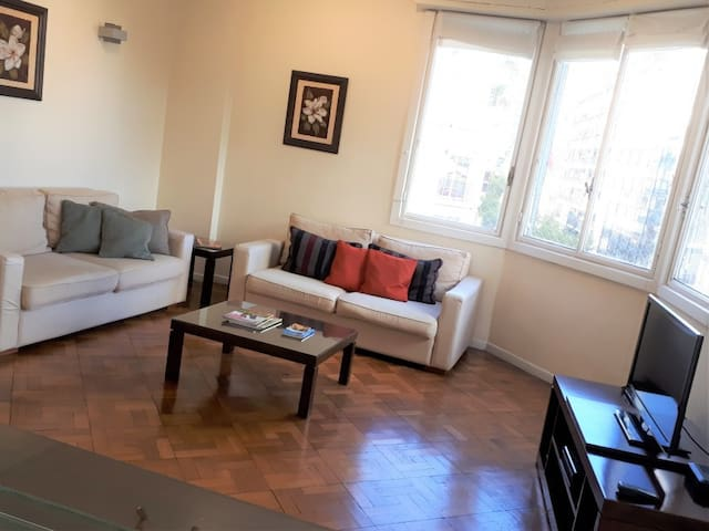 Bright 2 BR Apartment in Recoleta