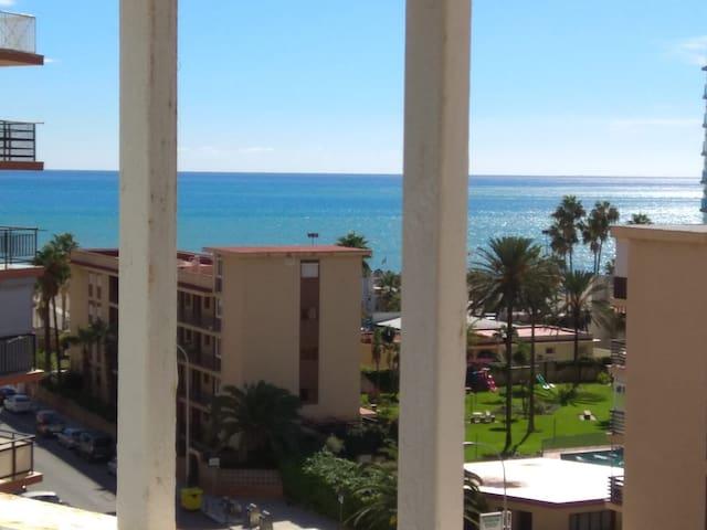 Apartamento con bonitas vistas al mar