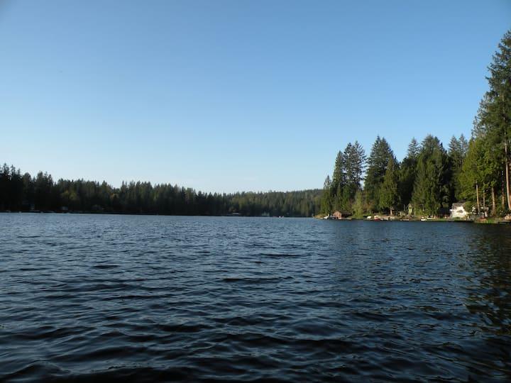 Quiet Lakeside Retreat #1 - Master Suite