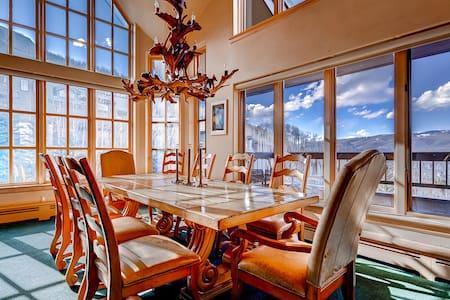 Luxury Ski-in 3 Br Penthouse Inside Pines Lodge, Sleeps 10! - Beaver Creek - Wohnung