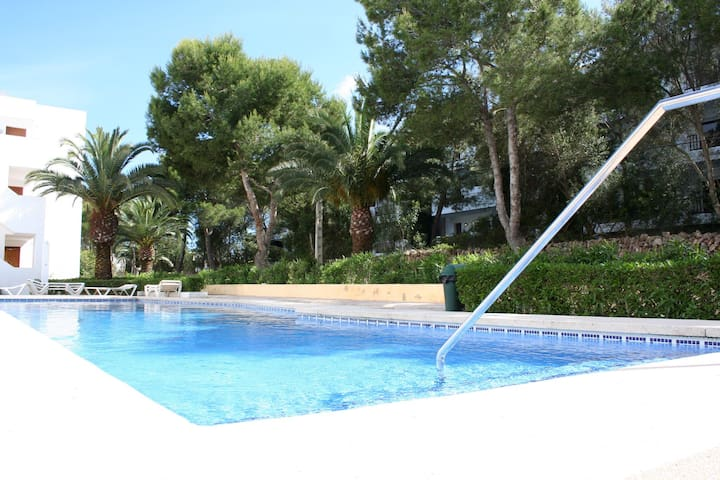 Cozy apartment 2min. from sea - Cala Ferrera - Flat