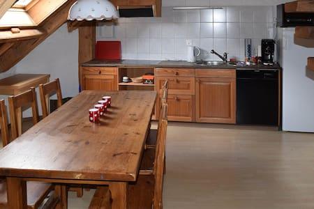 Ferienwohnung Chasa Mirer Zernez 'Atelier' - Zernez - Apartamento