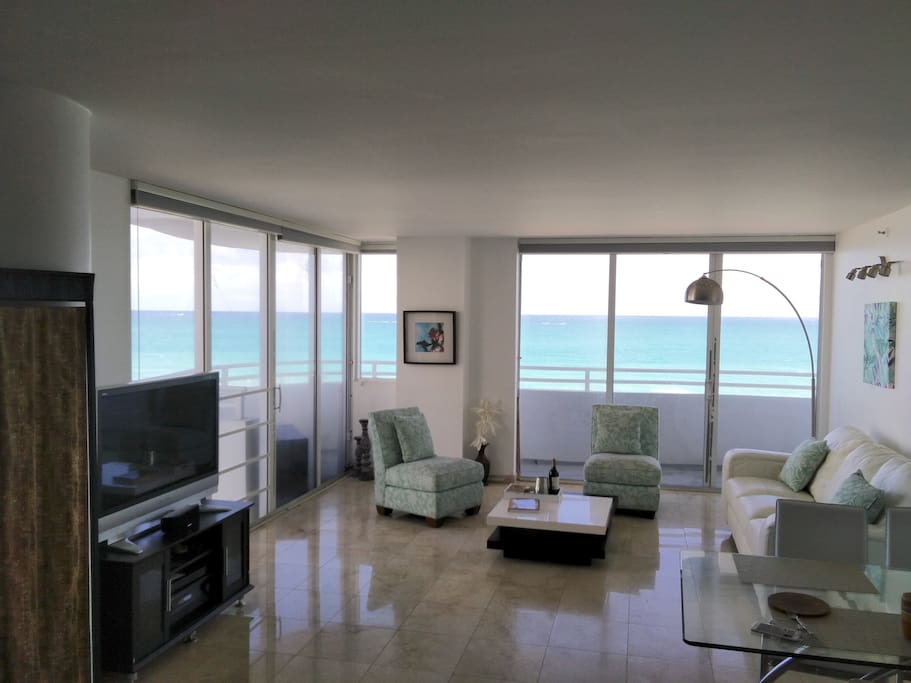 Some of the best direct views in Miami 180 wrap around terrace