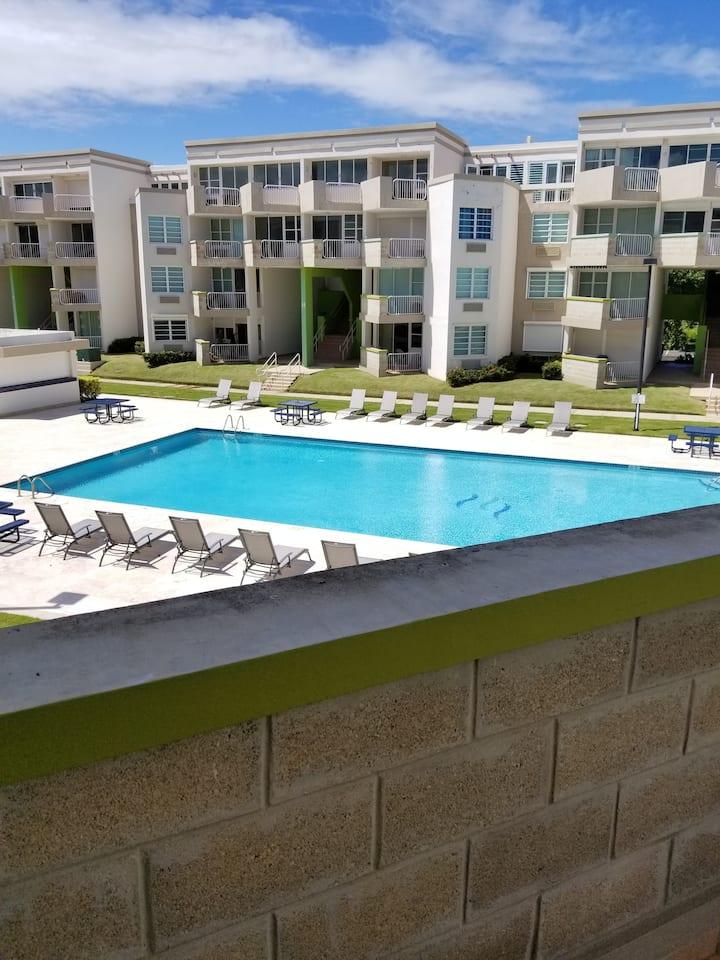 Pool front view @ Veredas del Mar!