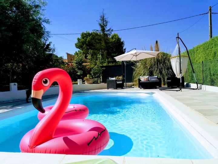 Villa avec piscine proche d'Aix-en-Provence