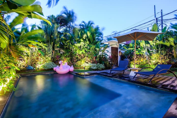New 3Bd Villa With Modern Design,Heart of Seminyak